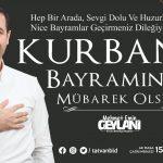 Başkan Geylani'nin Kurban Bayramı Mesajı